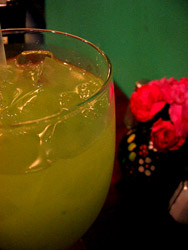 Flavored Margaritas at Cafe El Portal
