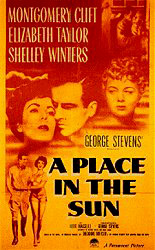 A Place In The Sun Directed by George Stevens (1951)